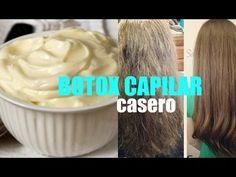 BOTOX CAPILAR CASERO / DIY HAIR BOTOX TREATMENT - YouTube