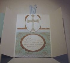 PTI First Communion book mark card - inside by moster - Cards and Paper Crafts at Splitcoaststampers