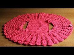 How to crochet vest bolero shrug, Chaleco, for beginners para principiantes free tutorial - YouTube
