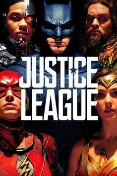 Justice League 2017 - Fuelled by his restored faith in humanity and inspired by Superman's selfless act, Bruce Wayne and Diana Prince assemble a team of metahum Watch Justice League, Justice League 2017, Free Films Online, Hd Movies Online, 2017 Movies, Batman Vs Superman, Site Pour Film, Petsch, Ben Affleck