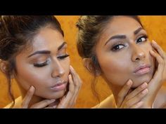 Sexy Bronze Glow Makeup Tutorial (Best for Indian Skin) | Bosslady Shruti - YouTube