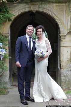 Dermot Oleary, X Factor presenter, finally married his long term girlfriend, Dee at Chiddingstone, Kent. Sept 2012