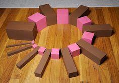Brown Stair/Pink Tower