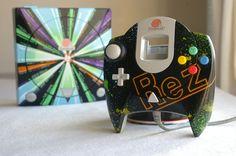 "Custom Dreamcast ""REZ"" by Oskunk"