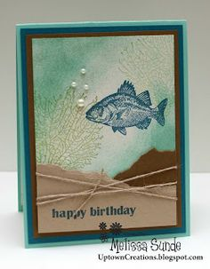 Uptown Creations- Stampin' Up! Independent Demonstrator: By The Tide :)