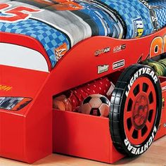 Costco lightning mcqueen bed