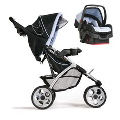 $282.95 - This travel stroller includes a Designer 22 car seat so it?s all you?ll need to take your baby everywhere you go! Front swivel wheels for maneuverability. Lightweight aluminum frame. 5-point padded harness. Basket with easy spring-down access. Parent assist tray with 3 drink holders. Includes Designer 22 car seat with 5-point harness, adjustable canopy, LATCH equipped adjustable base Looking For Travel Toys? Look no further and click here!