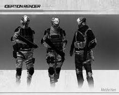 Bildergebnis für black gear sci fi soldier