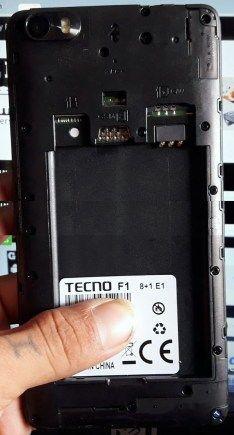 Tecno F1 Flash File