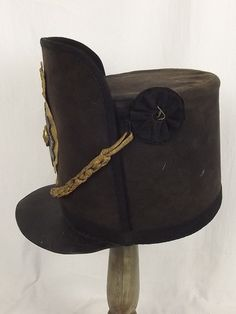 Scots Guards Shako worn at the Battle of Waterloo in June 1815