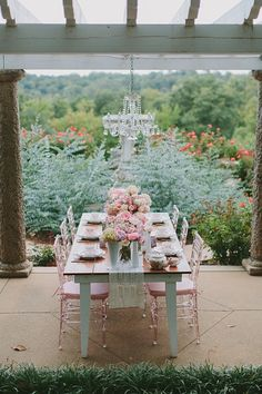 Marie Antoinette in the Garden. Styled shoot by Posh PR and photographed by Shalese Daniel Photography at Maymont Park. A feminine and luxurious take on the farm table with chandelier, milk glass and ghost chairs. Paisley & Jade...Vintage & Eclectic Furniture Rentals for Events, Weddings, Theatrical Productions & Photo Shoots*