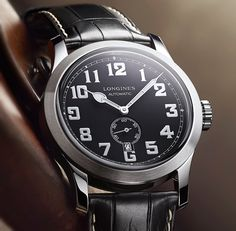 "Longines Heritage Military Watch - by Patrick Kansa - More on the newest from Longines at: aBlogtoWatch.com - ""Vintage, throwback, heritage. These are all words that have bombarded us regularly, and they can mean a variety of things. Most of it is simply marketing fluff, used to denote a particular look or design that may have no actual ties to history, and is simply made to look old..."""