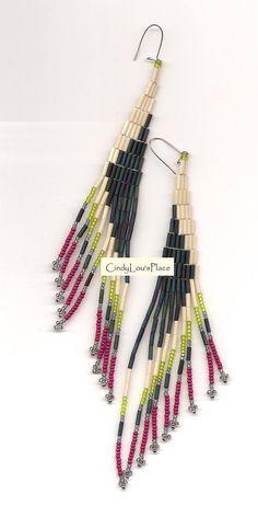 Beautiful Native American earrings