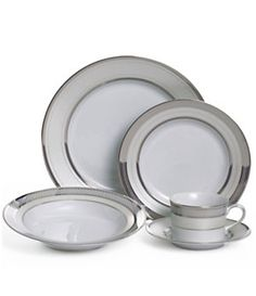 Lauren Ralph Lauren Silk Ribbon Pearl China | Dillard's Mobile