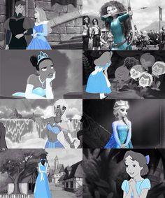 Disney Ladies in Blue