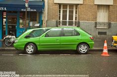 Backwards French Cars by Michel Gondry