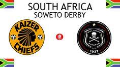 1970, South Africa (1st SOWETO DERBY), Kaizer Chiefs F.C. < > Orlando Pirates #KaizerChiefsFC #OrlandoPirates #SouthAfrica (L7563) Derby, Kaizer Chiefs, Sports Logos, Football Match, Orlando, Pirates, South Africa, Logo Design, African