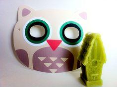 PRINTABLE EYEMASK- OWL
