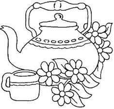 ,would make a nice drawing. Embroidery Patterns Free, Embroidery Stitches, Embroidery Designs, Craft Patterns, Quilt Patterns, Deco Fruit, Coloring Books, Coloring Pages, Applique Templates