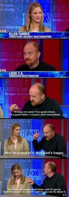 Louis CK: Comedian, Masturbator