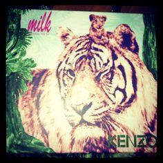 http://patbutcherswildcats.tumblr.com/  Kenzo SS13, Tiger