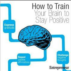 Como treinar o cérebro a manter-se positivo!