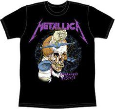 Metallica T-shirt - 1988 Classic Harvester of Sorrow Pushead design - http://www.band-tees.com/store/MET0042!BRVDO/Metallica+Harvester+T-Shirt