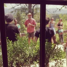 """Go on a """"green walk-about tour"""" with sustainability director Stan Cross"""
