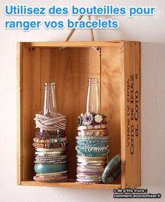 Les bijoux, c'est souvent LE truc qu'on n'arrive pas à ranger. D'abord, ils sont trop nombreux. Et ensuite, ils ont besoin d'être visibles, donc on ne peut pas les mettre en vrac dans un tiroir. Cette astuce va donc changer votre vie, en vous proposant LE rangement parfait pour les bracelets. Découvrez l'astuce ici : http://www.comment-economiser.fr/astuce-genie-ranger-voir-bracelets.html?utm_content=bufferc5981&utm_medium=social&utm_source=pinterest.com&utm_campaign=buffer