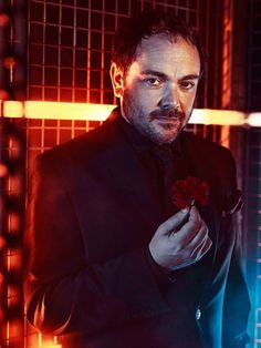 Best bad guy ever. Mark Sheppard rocks as King of Hell (Crowley).
