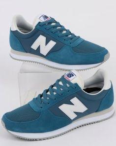 a6a744c6d6edbb New Balance 220 Trainers Light Blue White