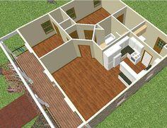 Sket 3D Model Rumah Sederhana Model Rumah Sederhana Yang Menarik