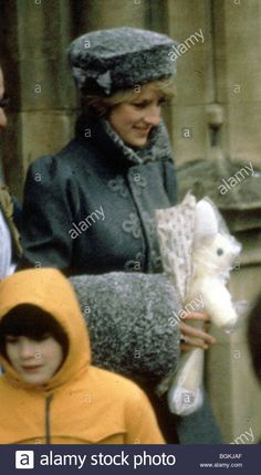 Download this stock image: Princess Diana, England (aprox date 1981) Diana, Princess of Wales Lady Di - BGKJAF from Alamy's library of millions of high resolution stock photos, illustrations and vectors.
