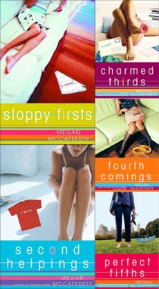the jessica darling series.  this looks delightfully trashy.