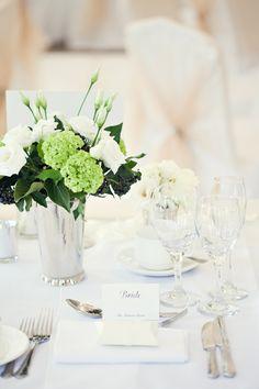 White Classic Hollywood Glamour Wedding Place Setting http://www.kerryannduffy.com/
