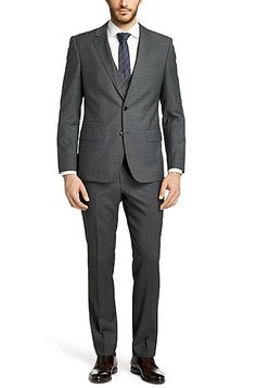anzug mit weste on pinterest suits slim fit suits and blauer anzug. Black Bedroom Furniture Sets. Home Design Ideas