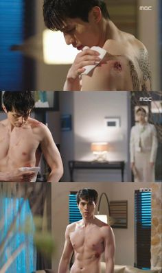 """New """"Hotel King"""" Still Cuts Reveal Lee Dong Wook's Perfect Abs"""