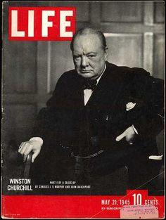 winston churchill , yousuf karsh LIFE magazine may 21 , 1945 Old Magazines, Vintage Magazines, Life Magazine Archives, Yousuf Karsh, Time Magazine, Magazine Covers, Magazine Photos, Magazine Rack, Life Cover