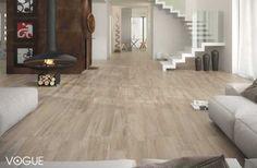 חדר מגורים עם רצפה דמוי פרקט