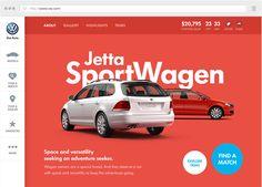 VW.com on Web Design Served