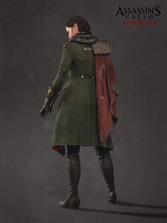 ArtStation - Evie's Military Suit (Assassin's Creed Syndicate), Stephanie Chafe                                                                                                                                                                                 More