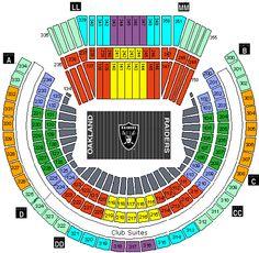 Oakland Coliseum Seating Chart Coliseum Oakland Tickets Oakland Raiders Nfl Seating Chart And Oakland Coliseum Raiders Vs Oakland