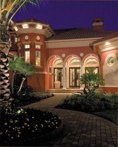 Eplans Mediterranean House Plan - Mediterranean Villa - 4391 Square Feet and 6 Bedrooms from Eplans - House Plan Code HWEPL14229