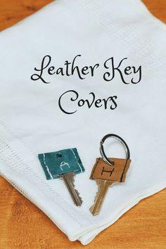 Leather Key Covers, Kiku Corner