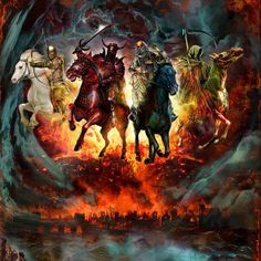 How Are You Preparing For Next Year?... They Are Coming... Be Prepared For The Four Horsemen!!! We Need To Open Our Eyes And See What's Happening To Our Beautiful Planet #2014 #FourHorsemen #Apocalypse #AreWeClose #IsTheEndNear #RainOnYourParade #Hahaha #JesusSaves / http://www.contactchristians.com/?p=6058