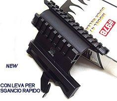ATTACCO LATERALE PER FUCILE AK 47 UTG 978 A SGANCIO RAPIDO