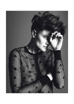 Saskia de Brauw & Casey Legler by Inez & Vinoodh for Vogue Paris March 2013