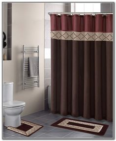 Bathroom decor shower curtains Little Girl Lovely Shower Curtain And Rug Set Ideas New Shower Curtain And Rug Set Or Fascinating Contemporary Bathroom Rugs Sets Bathroom Decor Shower Curtains Pinterest 19 Best Double Swag Bathroom Shower Curtain Sets Images Bathroom