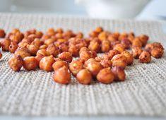 """Les grignotines de pois chiches: une recette parfaite pour les amateurs de salé qui veulent remplacer les """"fameuses"""" chips par une collation santé!"""