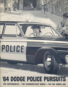 1964 Dodge Police vehicles